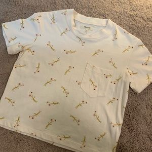 Madewell cropped T - never worn